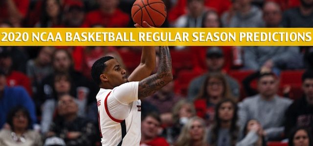 Texas Tech Red Raiders vs West Virginia Mountaineers Predictions, Picks, Odds, and NCAA Basketball Betting Preview – January 11 2020