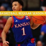 West Virginia Mountaineers vs Kansas Jayhawks Predictions, Picks, Odds, and NCAA Basketball Betting Preview - January 4 2020