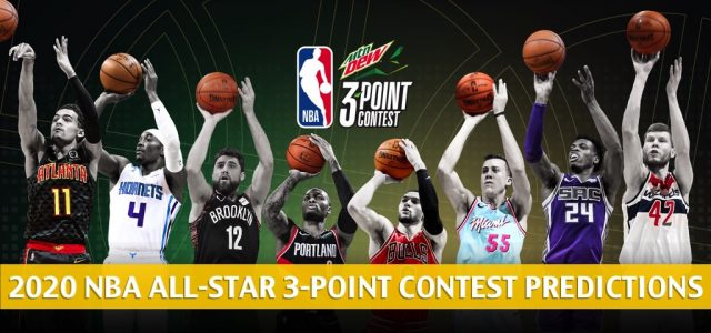 2020 NBA 3-Point Contest Predictions, Odds, and Picks : All-Star Weekend Preview