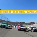 2020 Auto Club 400 Expert Picks and Predictions