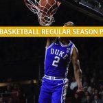 Duke Blue Devils vs North Carolina Tar Heels Predictions, Picks, Odds, and NCAA Basketball Betting Preview - February 8 2020