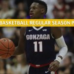 Gonzaga Bulldogs vs St Mary's Gaels Predictions, Picks, Odds, and NCAA Basketball Betting Preview - February 8 2020