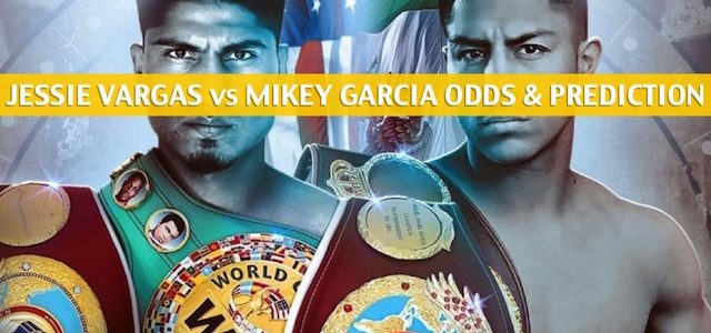 Jessie Vargas vs Mikey Garcia Predictions, Picks, Odds, and Betting Preview – WBC Diamond Welterweight Bout – February 29 2020