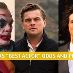 2020 Oscars Best Actor Odds and Predictions