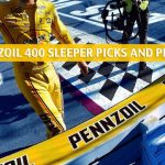 2020 Pennzoil 400 Sleepers and Sleeper Picks and Predictions