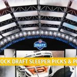 2020 NFL Draft Sleepers and Sleeper Picks / Projections