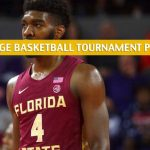 Clemson Tigers vs Florida State Seminoles Predictions, Picks, Odds, and NCAA Basketball ACC Tournament Betting Preview - March 12 2020