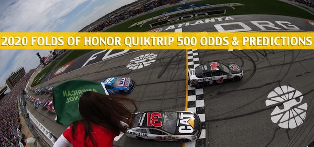 Folds of Honor QuikTrip 500 Predictions, Picks, Odds, and Betting Preview – March 15 2020