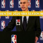 Will the 2020 NBA Season Resume, Return, or be Cancelled? What the Odds Say