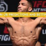 UFC on ESPN+28 Predictions, Picks, Odds, and Betting Preview - Kevin Lee vs Charles Oliveira - March 14 2020