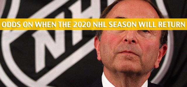 Will the 2020 NHL Season Resume, Return, or be Cancelled? What the Odds Say