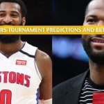 Andre Drummond vs DeMarcus Cousins Predictions, Picks, Odds, and Betting Preview - NBA 2K Players Tournament April 3 2020