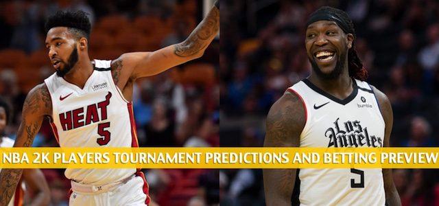 Derrick Jones Jr. vs Montrezl Harrell Predictions, Picks, Odds, and Betting Preview – NBA 2K Players Tournament Quarterfinals on April 7 2020