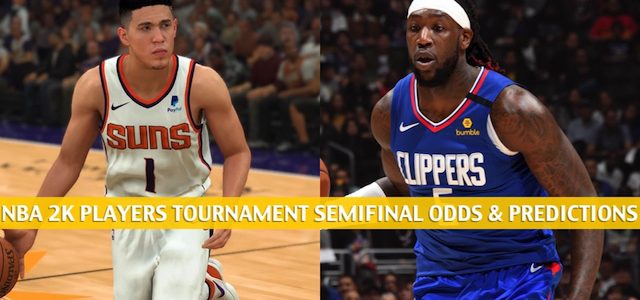 Devin Booker vs Montrezl Harrell Predictions, Picks, Odds, and Betting Preview – NBA 2K Players Tournament Semifinals on April 11 2020