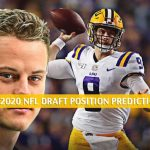 Joe Burrow Predictions, Projection, Pick and Odds - 2020 NFL Draft