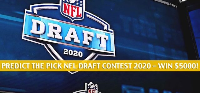 Predict the Pick 2020 NFL Draft Contest: The Ultimate Pick 'Em Pool