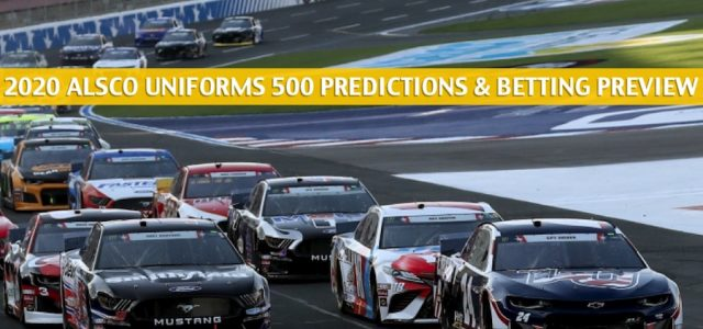 Alsco Uniforms 500 Predictions, Picks, Odds, and Betting Preview | May 27 2020