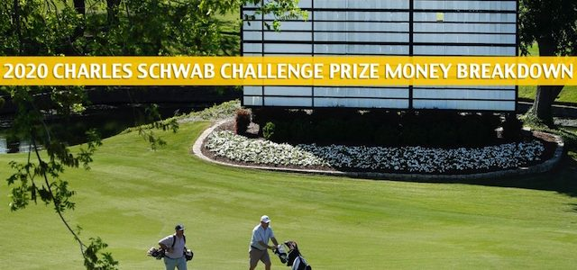 Charles Schwab Challenge Purse and Prize Money Breakdown 2020