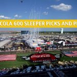 Coca Cola 600 Sleepers and Sleeper Picks and Predictions 2020