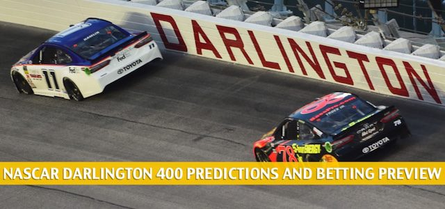 Darlington 400 Predictions, Picks, Odds, and Betting Preview | May 17 2020