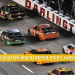 Darlington 400 Sleepers and Sleeper Picks and Predictions 2020