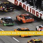 Darlington 400 Sleepers and Sleeper Picks and Predictions 2020