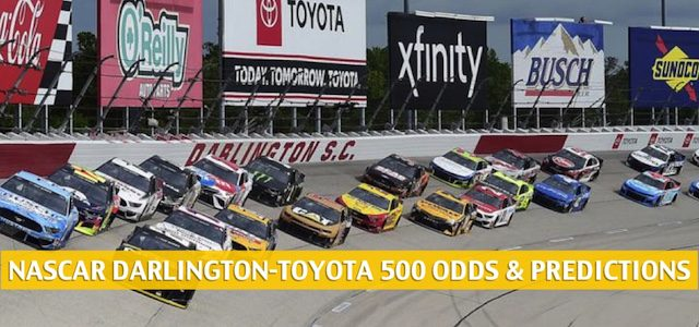 Darlington-Toyota 500 Predictions, Picks, Odds, and Betting Preview | May 20 2020
