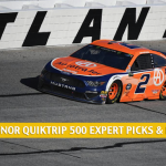 Folds of Honor Quiktrip 500 Expert Picks and Predictions 2020