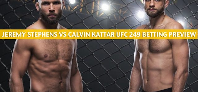 Jeremy Stephens vs Calvin Kattar Predictions, Picks, Odds, and Betting Preview – UFC 249