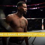 Kevin Holland vs Daniel Rodriguez Predictions, Picks, Odds, and Betting Preview | UFC Fight Night May 30 2020