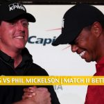 Tiger Woods and Peyton Manning vs Phil Mickelson and Tom Brady Predictions, Picks, Odds, and Betting Preview - May 24 2020