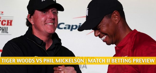 Tiger Woods and Peyton Manning vs Phil Mickelson and Tom Brady Predictions, Picks, Odds, and Betting Preview – May 24 2020