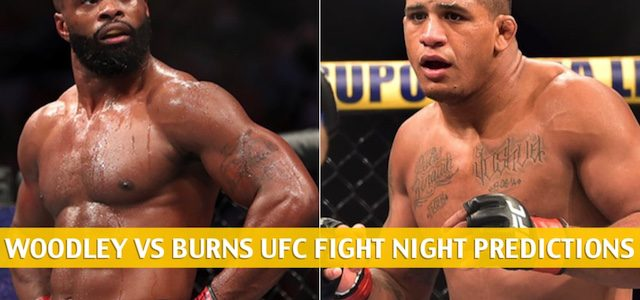 Tyron Woodley vs Gilbert Burns Predictions, Picks, Odds, and Betting Preview | UFC Fight Night May 30 2020