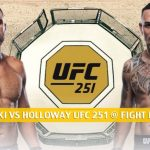 Alexander Volkanovski vs Max Holloway Predictions, Picks, Odds and Betting Preview | UFC 251 at Fight Island - July 11 2020