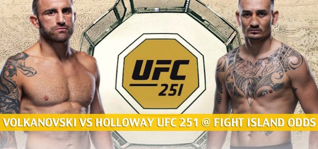 Alexander Volkanovski vs Max Holloway Predictions, Picks, Odds and Betting Preview | UFC 251 at Fight Island – July 11 2020