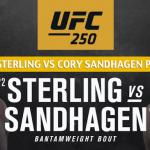 Aljamain Sterling vs Cory Sandhagen Predictions, Picks, Odds, and Betting Preview | UFC 250 June 6 2020
