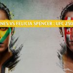 Amanda Nunes vs Felicia Spencer Predictions, Picks, Odds, and Betting Preview | UFC 250 June 6 2020