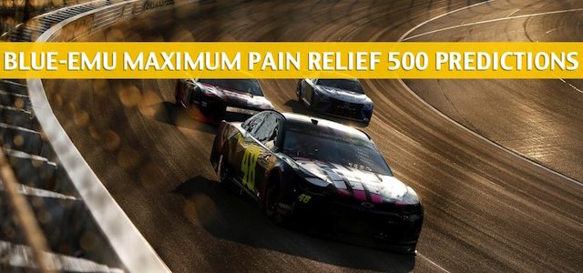 Blue-Emu Maximum Pain Relief 500 Predictions, Picks, Odds, and Betting Preview | June 10 2020