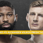 Curtis Blaydes vs Alexander Volkov Predictions, Picks, Odds and Betting Preview | UFC Fight Night - June 20 2020