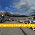 Dixie Vodka 400 Sleepers and Sleeper Picks and Predictions 2020