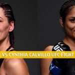 Jessica Eye vs. Cynthia Calvillo Predictions, Picks, Odds, and Betting Preview | UFC Fight Night June 13 2020