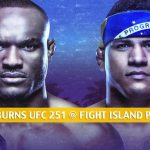 Kamaru Usman vs Gilbert Burns Predictions, Picks, Odds and Betting Preview | UFC 251 at Fight Island - July 11 2020