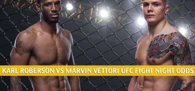 Karl Roberson vs Marvin Vettori Predictions, Picks, Odds, and Betting Preview | UFC Fight Night June 13 2020