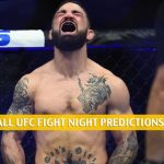 Mike Perry vs Mickey Gall Predictions, Picks, Odds and Betting Preview | UFC Fight Night - June 27 2020