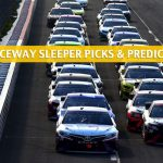 Pocono 350 Sleepers and Sleeper Picks and Predictions 2020