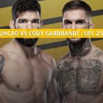 Raphael Assuncao vs Cody Garbrandt Predictions, Picks, Odds, and Betting Preview | UFC 250 June 6 2020
