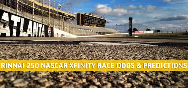 Rinnai 250 Predictions, Picks, Odds, and Betting Preview | Nascar Xfinity Series | June 6 2020