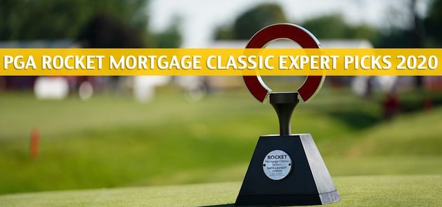 PGA Rocket Mortgage Classic Expert Picks and Predictions 2020