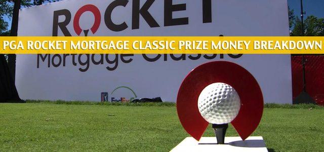 2020 PGA Rocket Mortgage Classic Purse and Prize Money Breakdown