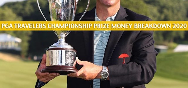2020 PGA Travelers Championship Purse and Prize Money Breakdown